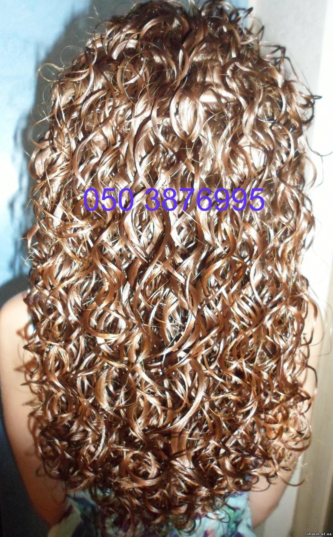 Крупная завивка волос